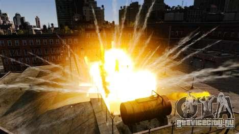 Новые эффекты взрыва и огня для GTA 4 третий скриншот