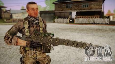 Sniper M-14 With Camouflage Grid для GTA San Andreas четвёртый скриншот