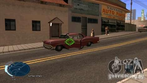 C-HUD Assasins Creed 3 III для GTA San Andreas второй скриншот