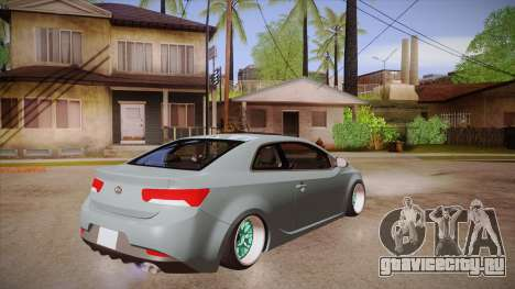 Kia Cerato для GTA San Andreas вид справа