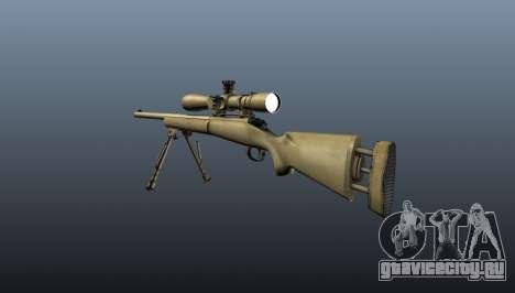 Снайперская винтовка M24 для GTA 4 второй скриншот