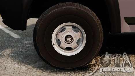 УАЗ Патриот для GTA 4 вид сзади