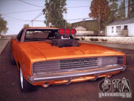 Dodge Charger RT V2 для GTA San Andreas