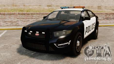 GTA V Vapid Police Interceptor для GTA 4