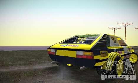 FSO Polonez 2500 Racing 1978 для GTA San Andreas вид справа