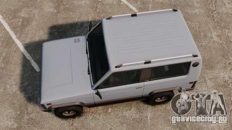 УАЗ-3170 прототип для GTA 4 вид справа