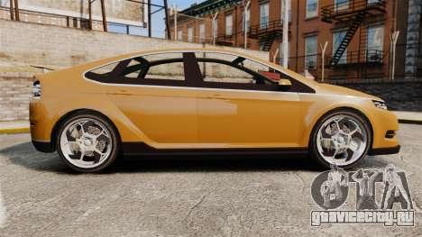 GTA V Cheval Surge для GTA 4 вид слева