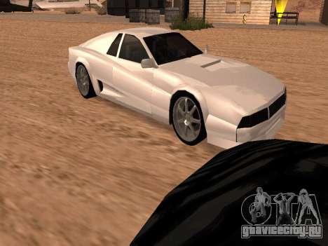 Сheetah Restyle для GTA San Andreas салон