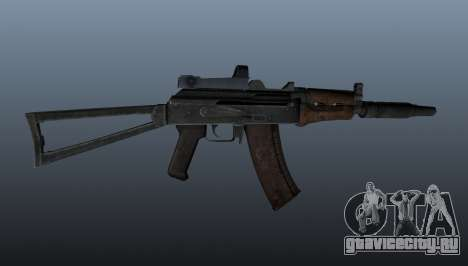 Автомат АКС74У для GTA 4 третий скриншот