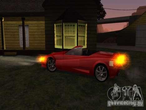 Сheetah Restyle для GTA San Andreas