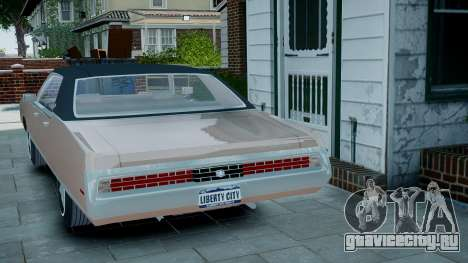 Chrysler New Yorker 1971 для GTA 4 вид слева