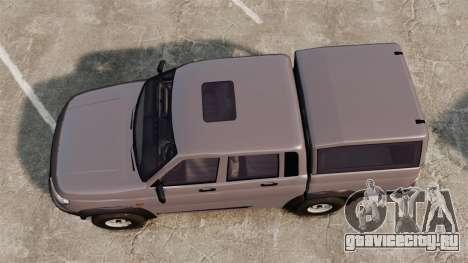 УАЗ Патриот для GTA 4 вид справа