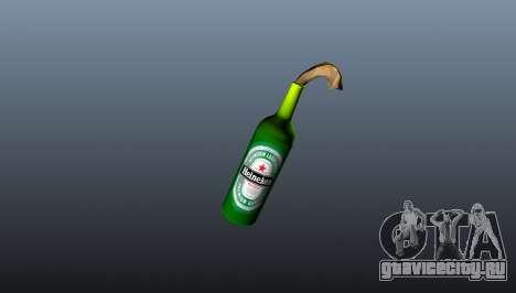Коктейль Молотова -Heineken- для GTA 4