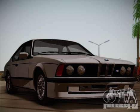 BMW E24 M635 1984 для GTA San Andreas вид слева