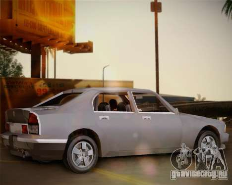 GTA III Kuruma для GTA San Andreas вид слева
