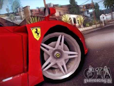 Ferrari Enzo 2003 для GTA San Andreas вид сбоку