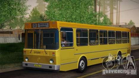 ЛиАЗ 5256.00 Скин-пак 6 для GTA San Andreas вид сзади