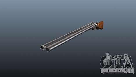 Охотничье двуствольное ружье ТОЗ БМ-16 для GTA 4