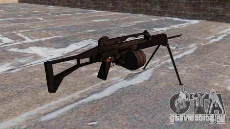 Штурмовая винтовка MG36 для GTA 4 второй скриншот