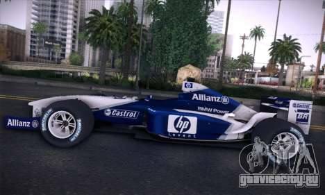 BMW Williams F1 для GTA San Andreas салон