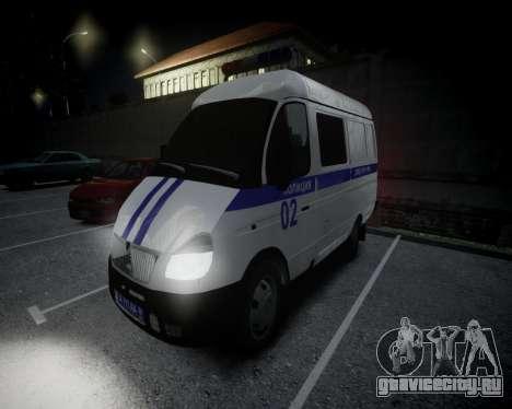 ГАЗель 2705 Полиция для GTA 4