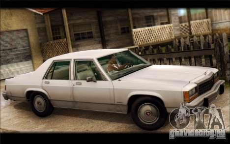 Ford LTD Crown Victoria 1987 для GTA San Andreas