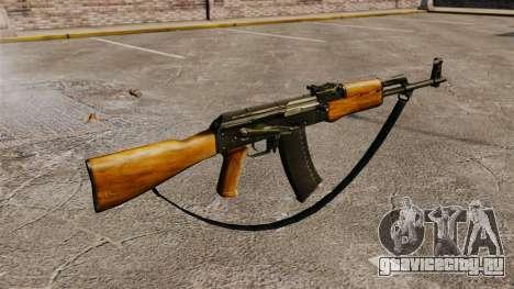 Автомат AK-47 v5 для GTA 4 второй скриншот
