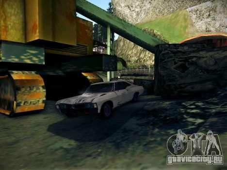 Playable ENB by Pablo Rosetti для GTA San Andreas второй скриншот