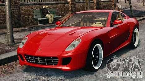 Ferrari 599 GTB Hamann 2006 для GTA 4 вид сзади