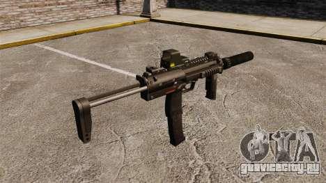 Пистолет-пулемёт HK MP7 Sopmod для GTA 4 второй скриншот