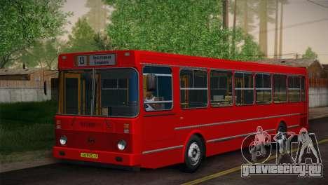 ЛиАЗ 5256.00 Скин-пак 6 для GTA San Andreas вид слева