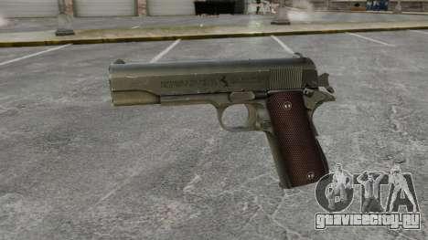 Пистолет Colt M1911 v5 для GTA 4 третий скриншот