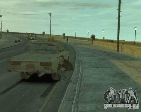 АЗЛК 2140 S.T.A.L.K.E.R для GTA 4 вид справа