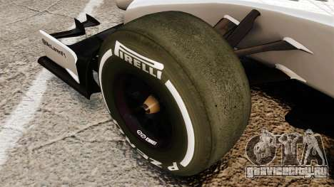 McLaren MP4-29 для GTA 4 вид сзади