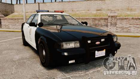 GTA V Police Cruiser [ELS] для GTA 4
