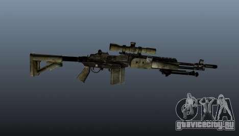 Снайперская винтовка M21 Mk14 v7 для GTA 4 третий скриншот
