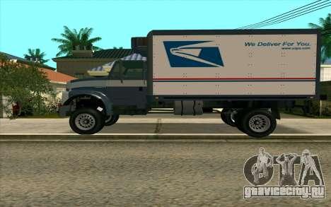 Yankee GTA 4 для GTA San Andreas вид слева