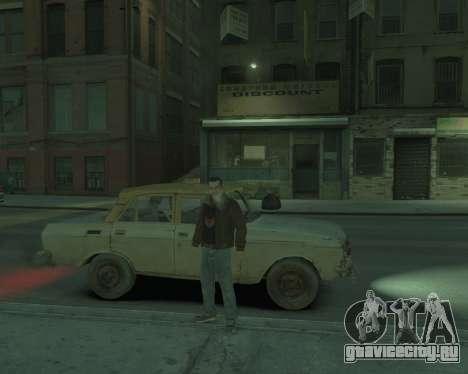 АЗЛК 2140 S.T.A.L.K.E.R для GTA 4 вид сзади слева