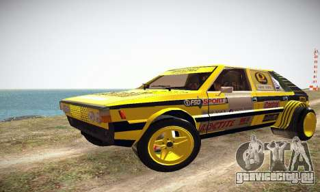 FSO Polonez 2500 Racing 1978 для GTA San Andreas вид слева