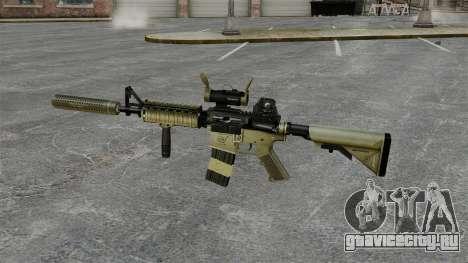 Автомат M4 с глушителем v1 для GTA 4 третий скриншот
