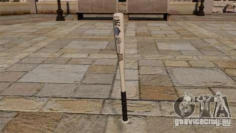 Бейсбольная бита Yankees World Series 2009 для GTA 4