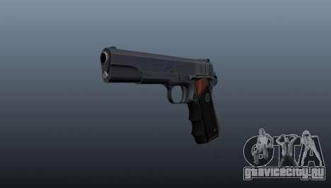 Полуавтоматический пистолет Hitman Silverballer для GTA 4
