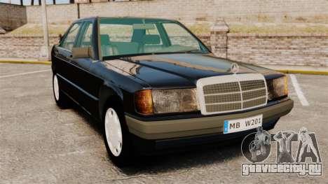 Mercedes-Benz E190 W201 для GTA 4