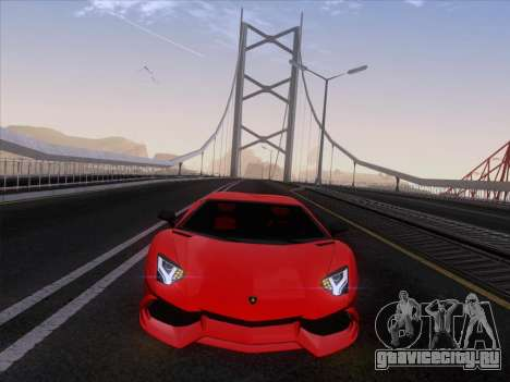 Lamborghini Aventador LP720-4 2013 для GTA San Andreas вид сзади