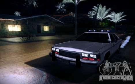 Police North Yankton для GTA San Andreas вид сзади слева