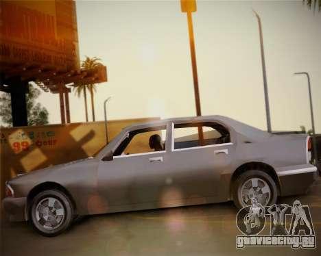 GTA III Kuruma для GTA San Andreas вид справа