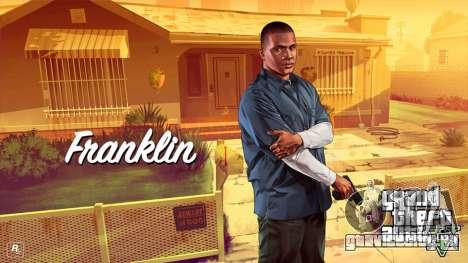 Franklin Clinton from GTA V для GTA 4 третий скриншот