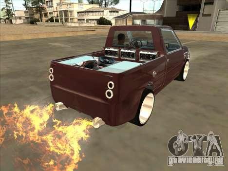ВАЗ 1111 Ока для GTA San Andreas вид слева