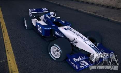 BMW Williams F1 для GTA San Andreas