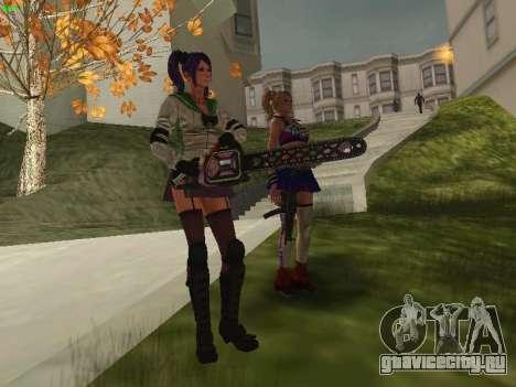 Juliet Starling для GTA San Andreas шестой скриншот